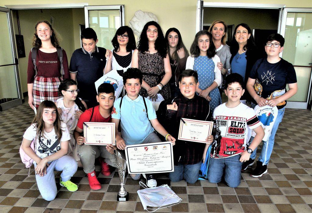 """Premiazione classe I A """"PROMUOVO IL MIO PAESE"""""""