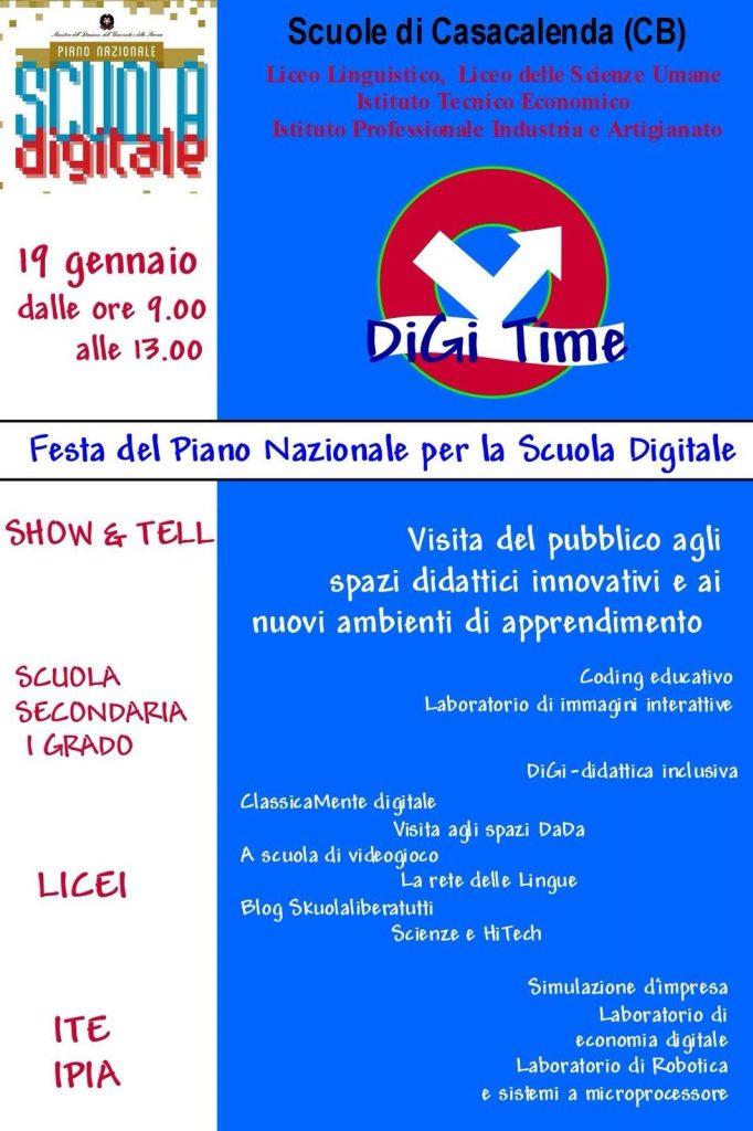 Festa del Piano Nazionale per la Scuola Digitale